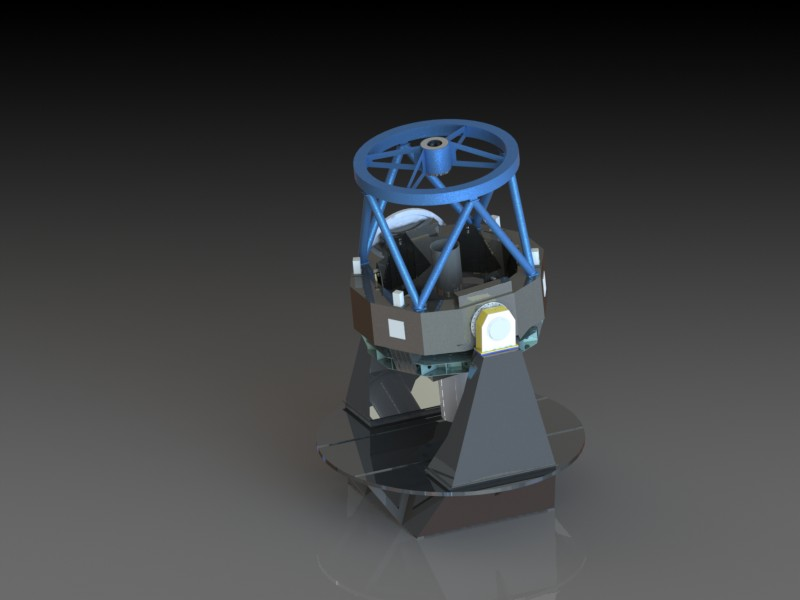 مدل تلسکوپ رصدخانه ملی ایران