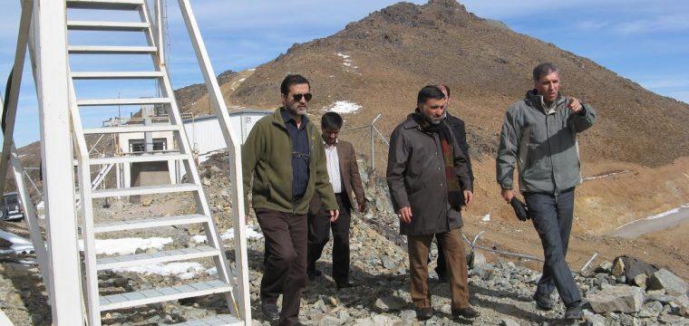 بازدیدهای اخیر از طرح رصدخانه ملی ایران