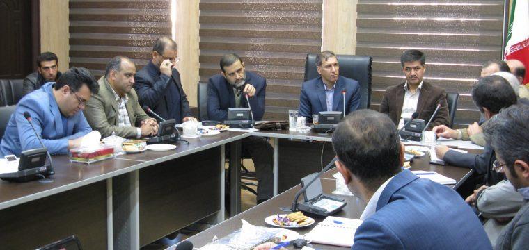 جلسه مدیریت طرح با مدیران منطقه احداث رصدخانه ملی ایران