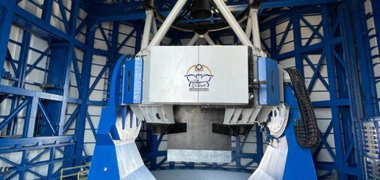 نصب و راه اندازی تلسکوپ ۳.۴ متری در رصدخانه ملی ایران